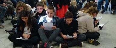 Elèves collège Saint Antoine