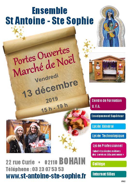 Marché de Noël - Portes Ouvertes
